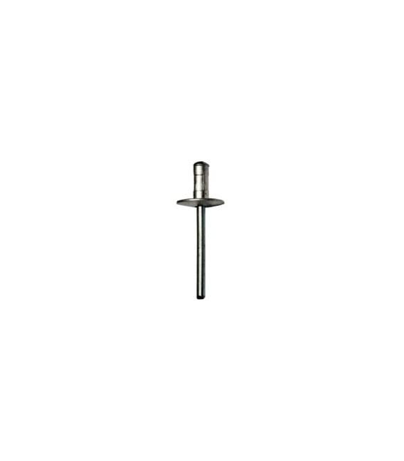Заклепка 4,8x15 с широким бортиком Multi-link (алюм/сталь)