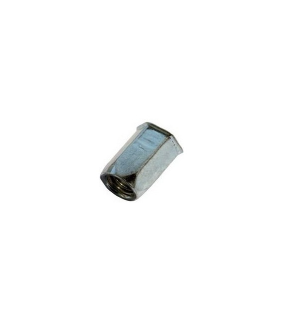 Заклепка резьбовая М6*16 мм шестигранная (нержавеющая сталь)