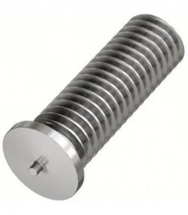 Шпилька приварная резьбовая M4x8 нержавеющая сталь