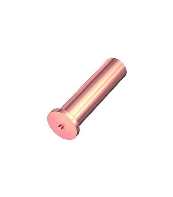 Втулка приварная 3x20 омедненная сталь