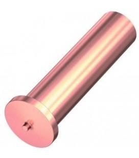 Втулка приварная 4x35 омедненная сталь