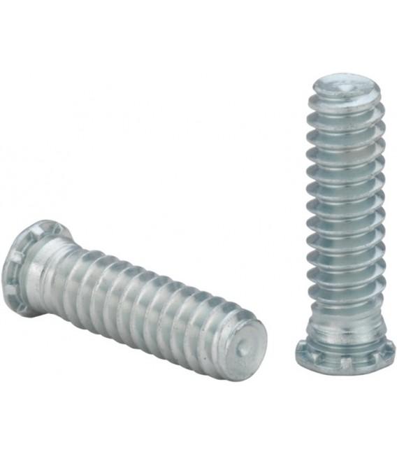 Шпилька запрессовочная резьбовая M2,5-M8