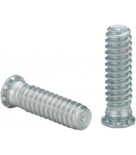 Шпилька запрессовочная резьбовая с уменьшенным диаметром основания M2,5-M5