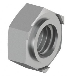 Гайка приварная DIN 929 М5 нержавеющая сталь