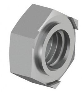 Гайка приварная DIN 929 М8 нержавеющая сталь