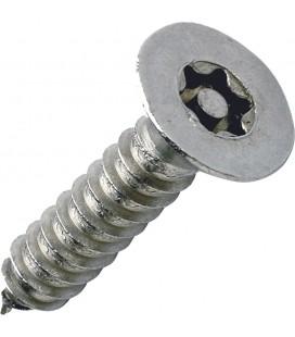 Саморез ART 9122 антивандальный с потайной головкой Pin Torx нержавеющая сталь А2